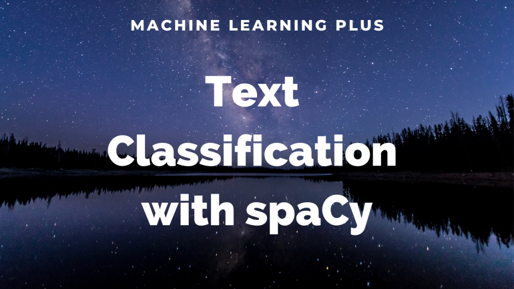 spacy custom text classification